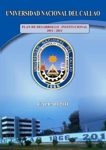 plan de desarrollo institucional 2011 - 2021 - Universidad Nacional ...