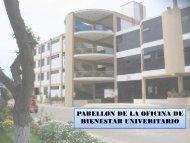 oficina de bienestar universitario - Universidad Nacional del Callao.