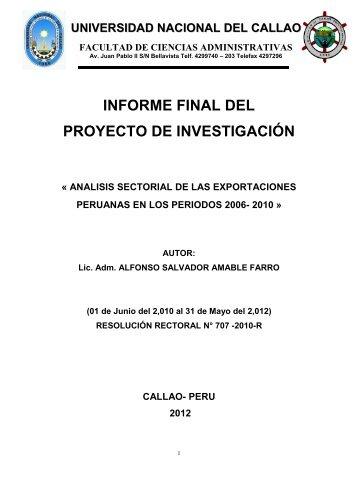IF_AMABLE FARRO_FCA.pdf - Universidad Nacional del Callao.