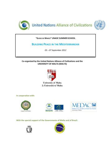 detailed information about the 4th UNAOC Summer School