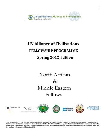 MENAbiospring2012 - United Nations Alliance of Civilizations ...