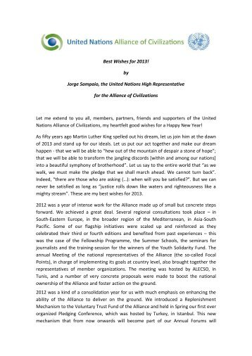 Download as PDF - United Nations Alliance of Civilizations (UNAOC)
