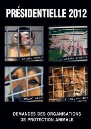 demandes des organisations de protection animale - Unapaf
