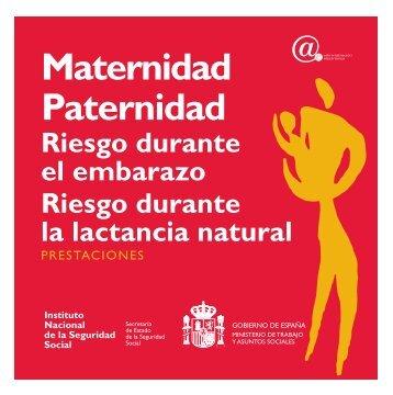 Maternidad Paternidad Riesgo durante el embarazo Riesgo durante ...