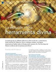 La evolución es una herramienta divina. - Universidad de Navarra