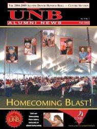 AN Fall 2005 - University of New Brunswick