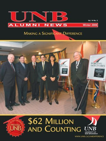 AN Winter 2006 - University of New Brunswick