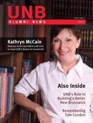 Fall 2012 - University of New Brunswick