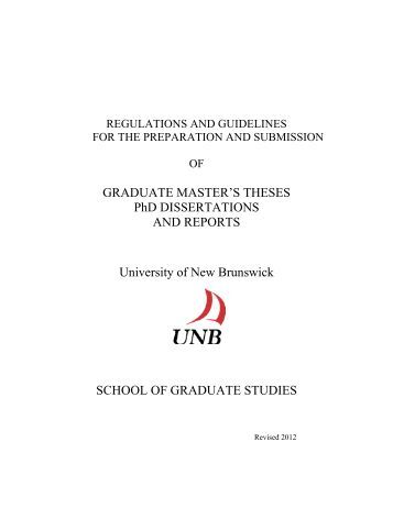 Masters theses