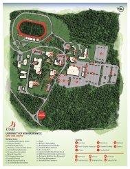 Interim Campus Map v2 - University of New Brunswick