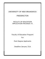 downloaded here in .pdf format - University of New Brunswick