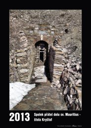 Spolek přátel dolu sv. Mauritius - štola Kryštof - Unbekannter Bergbau
