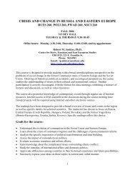 link to Fall 2006 syllabus