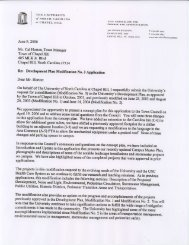 June 9, 2006 Mr. Cal Hortoq TownManager Town of ChapelHill 405 ...