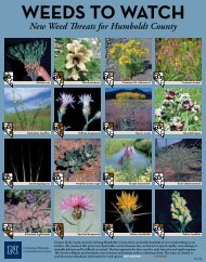 Weeds to Watch - University of Nevada Cooperative Extension