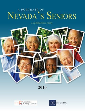 A Portrait of Nevada's Seniors - Cannon Survey Center - University ...