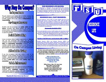 Housing Brochure - Fayetteville State University