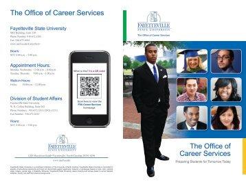Career Services Brochure - Fayetteville State University