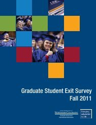Fall 2011 Exit Survey (pdf)
