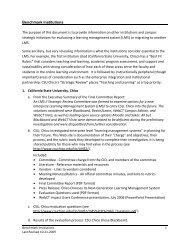 Benchmark Institutions/Best Practice - University of Northern Colorado