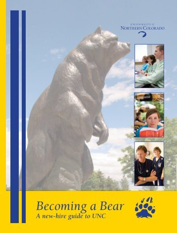 Becoming a Bear - University of Northern Colorado