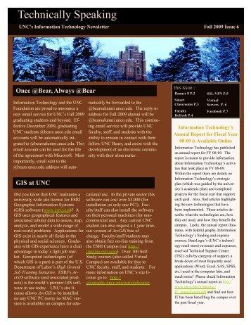 Fall 2009 Vol. 1, Issue 6