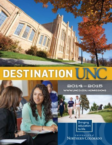Mini Viewbook - University of Northern Colorado