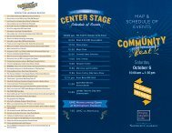 Download the 2012 Community Fest Map and Schedule of Events