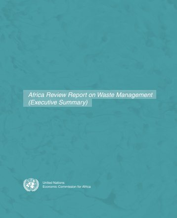 Africa Review Report on Waste Management (Executive Summary)