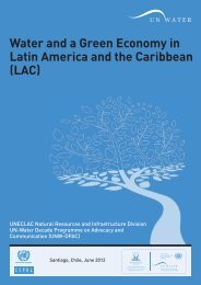 Water and a Green Economy in Latin America and the Caribbean