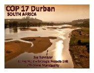 report from COP17 - United Nations Framework Convention on ...