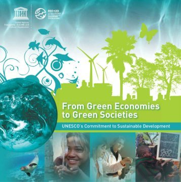 From green economies to green societies - Unesco