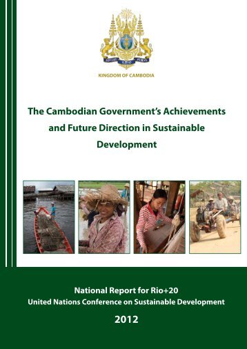 National Report - Cambodia - United Nations Sustainable ...