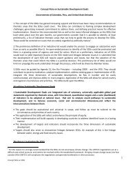 1 Concept Note on Sustainable Development Goals ... - Rio+20