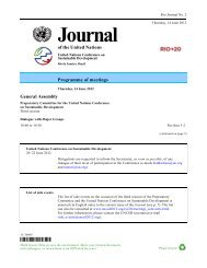 Journal of the United Nations - Rio+20
