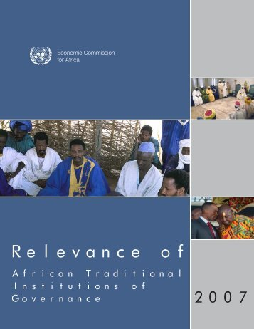 Relevance of - United Nations Economic Commission for Africa
