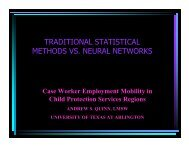 Neural Networks vs. Traditional Statistics in Predicting Case Worker