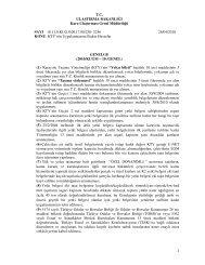 2010-KUGM-10-KTY'nin Uygulanmasına İlişkin Hususlar - UND