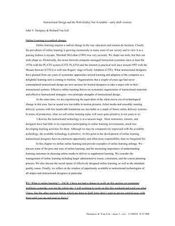 Dempsey & Van Eck - page 1 - rev. 11/09/03, 9:32 PM Instructional ...