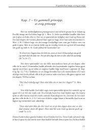 Kap. 2 – Et gammelt prinsipp, et evig prinsipp - Under My Tree