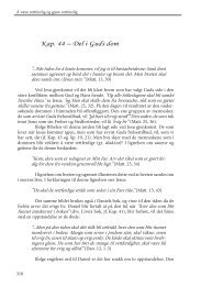 Kap. 44 – Del i Guds dom - Under My Tree