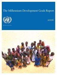 The Millennium Development Goals Report 2006 PDF
