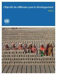 Rapport 2012 sur les Objectifs du Millénaire pour le Développement