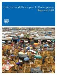 Objectifs du Millénaire pour le développement : Rapport de 2011