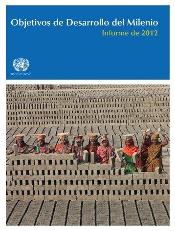 INfOrME DE 2012 - Millennium Development Goals Indicators - ONU