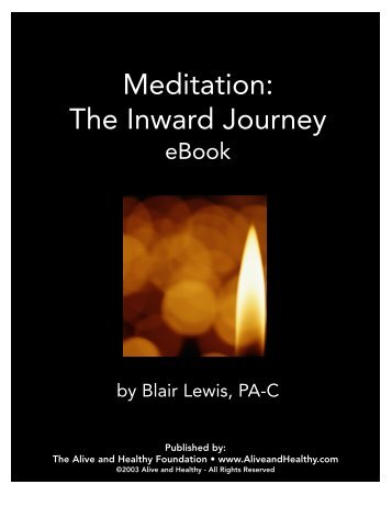 Meditation: The Inward Journey - www.BahaiStudies.net