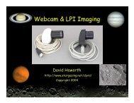 Webcam & LPI Imaging