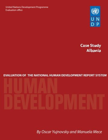 Albania - United Nations Development Programme