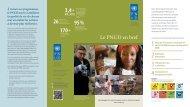 170+ 95 % 3,4+ - United Nations Development Programme