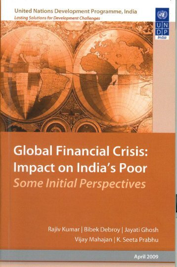 essay on financial crisis in india